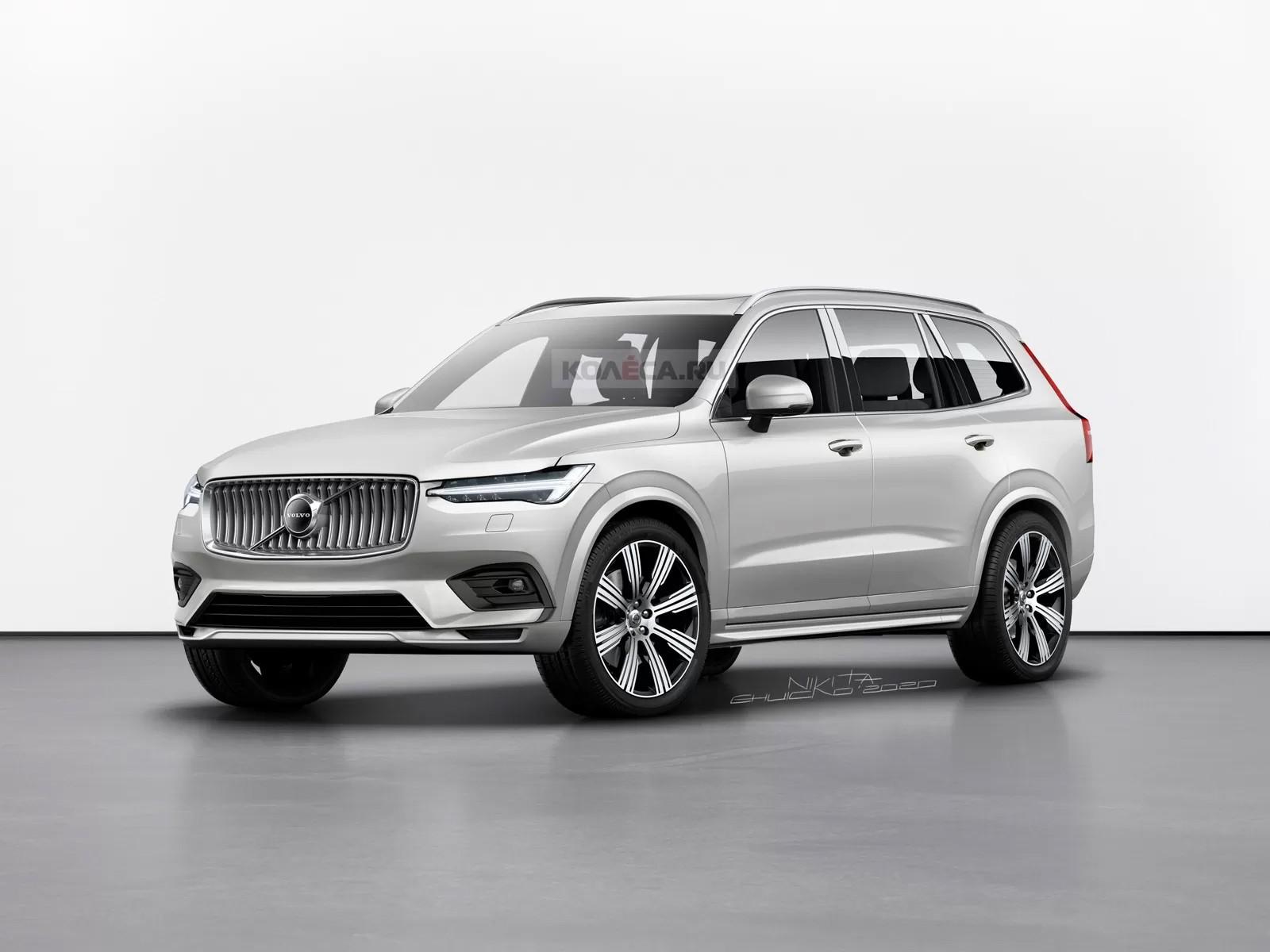 Volvo XC100: четыре места, только автопилот и электрическая силовая установка