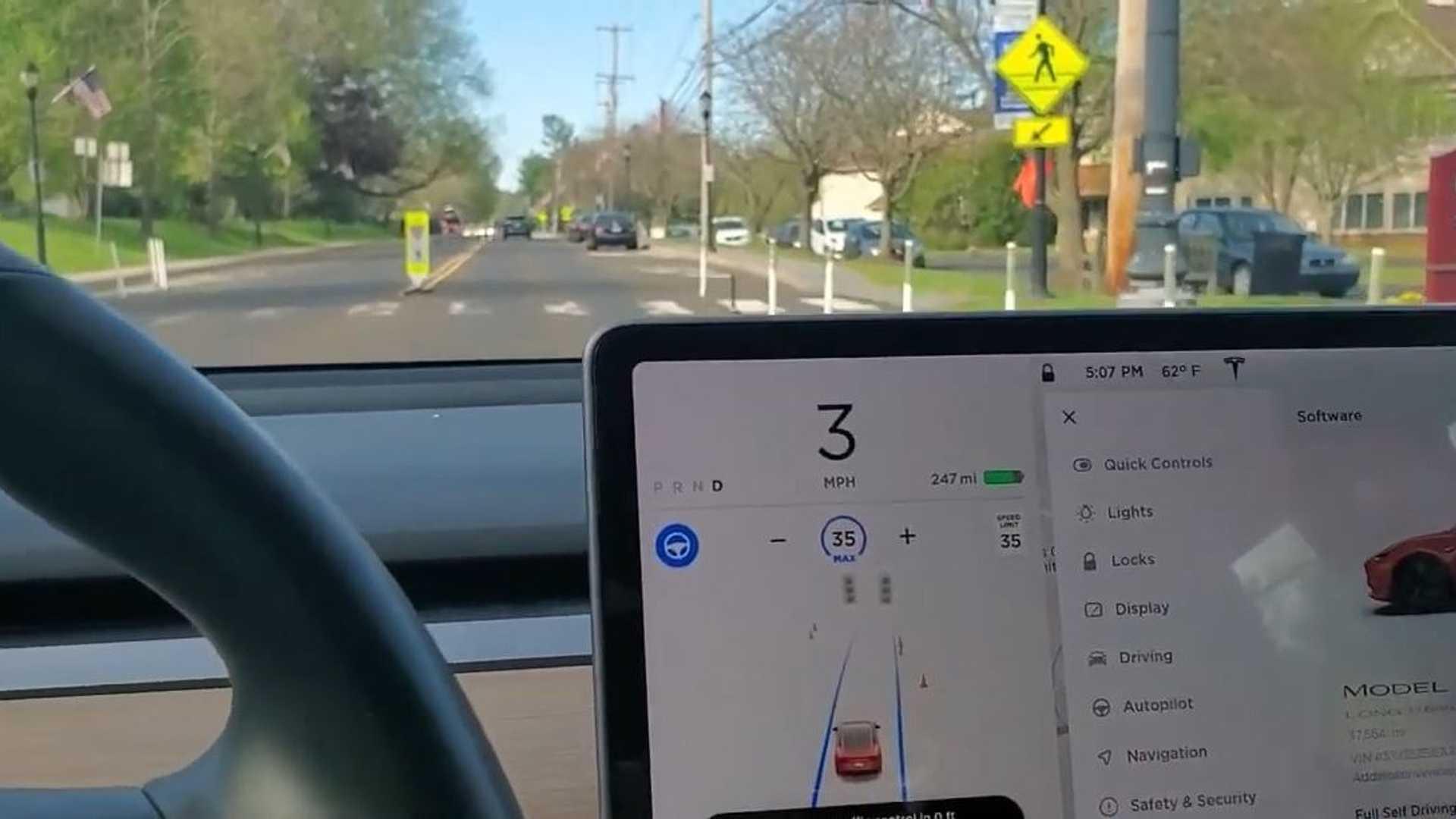 Новые средства управления дорожным движением Tesla могут застать вас врасплох
