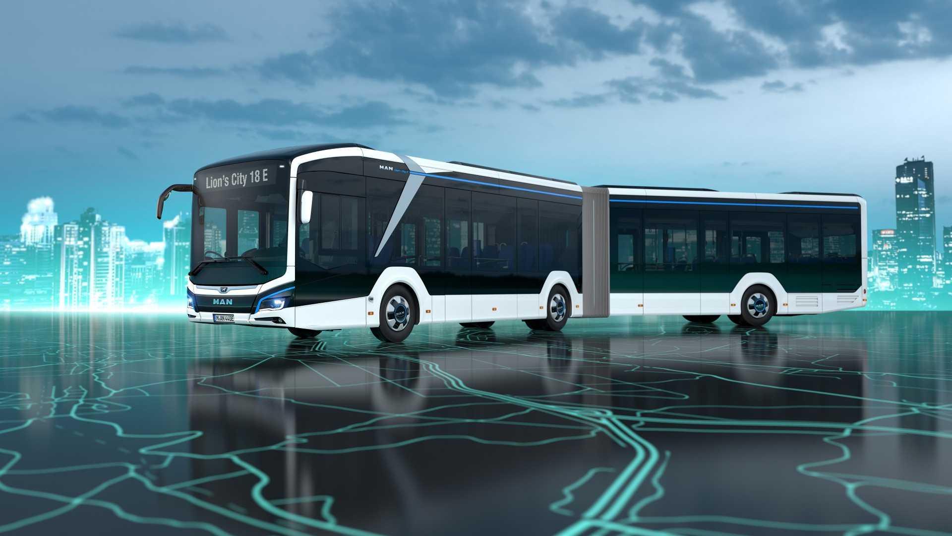 MAN представляет свой новый Lion's City 18 E Electric Bus