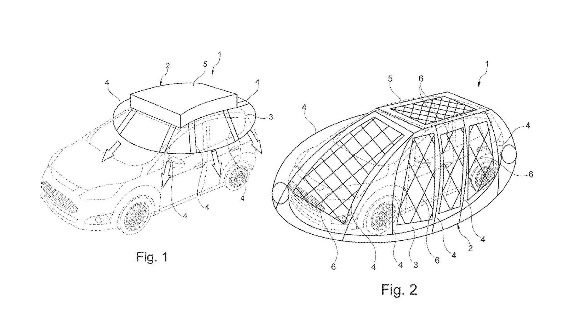 Ford запатентовал солнечный кокон для электромобиля: будет ли он продаваться?