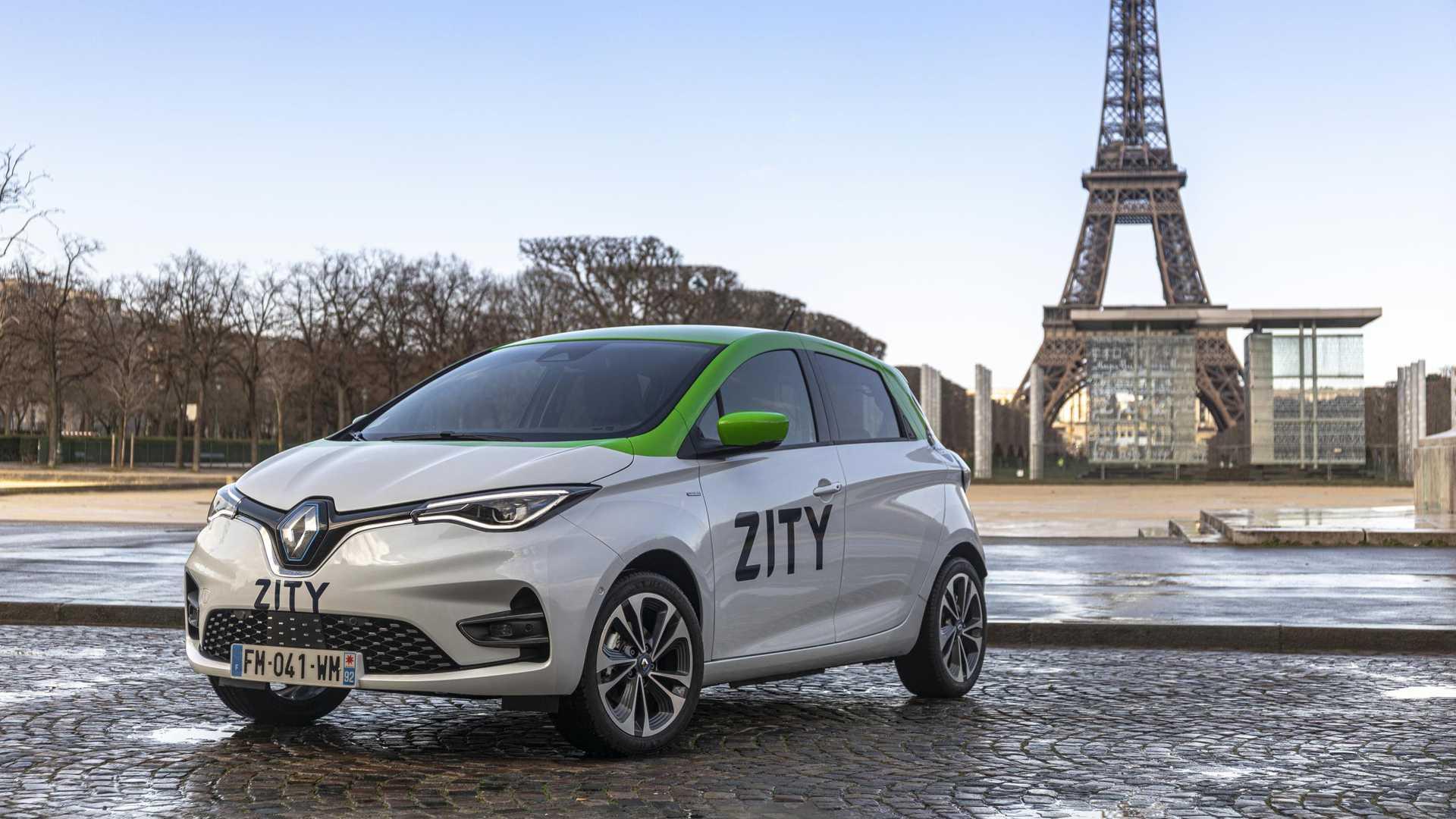Renault запускает ZITY Car Sharing в Париже