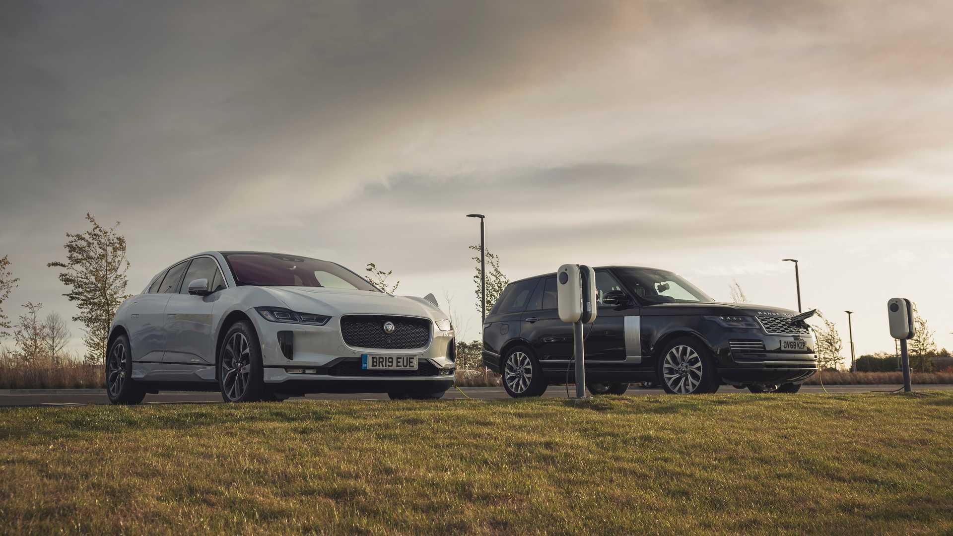 Jaguar-Land Rover создаст электрифицированные модели SVO Performance