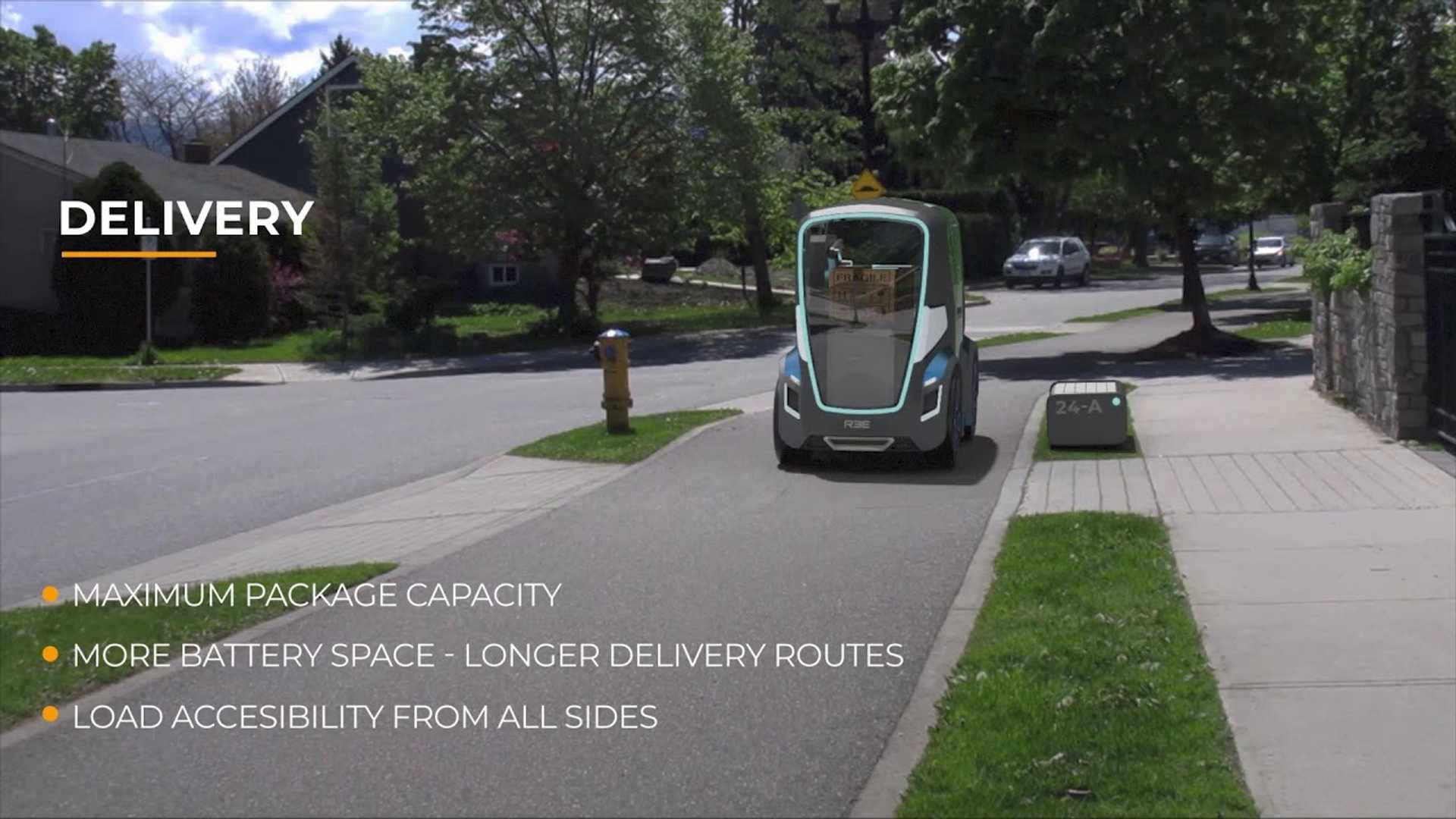 REE представляет автономное использование для своей революционной платформы EV