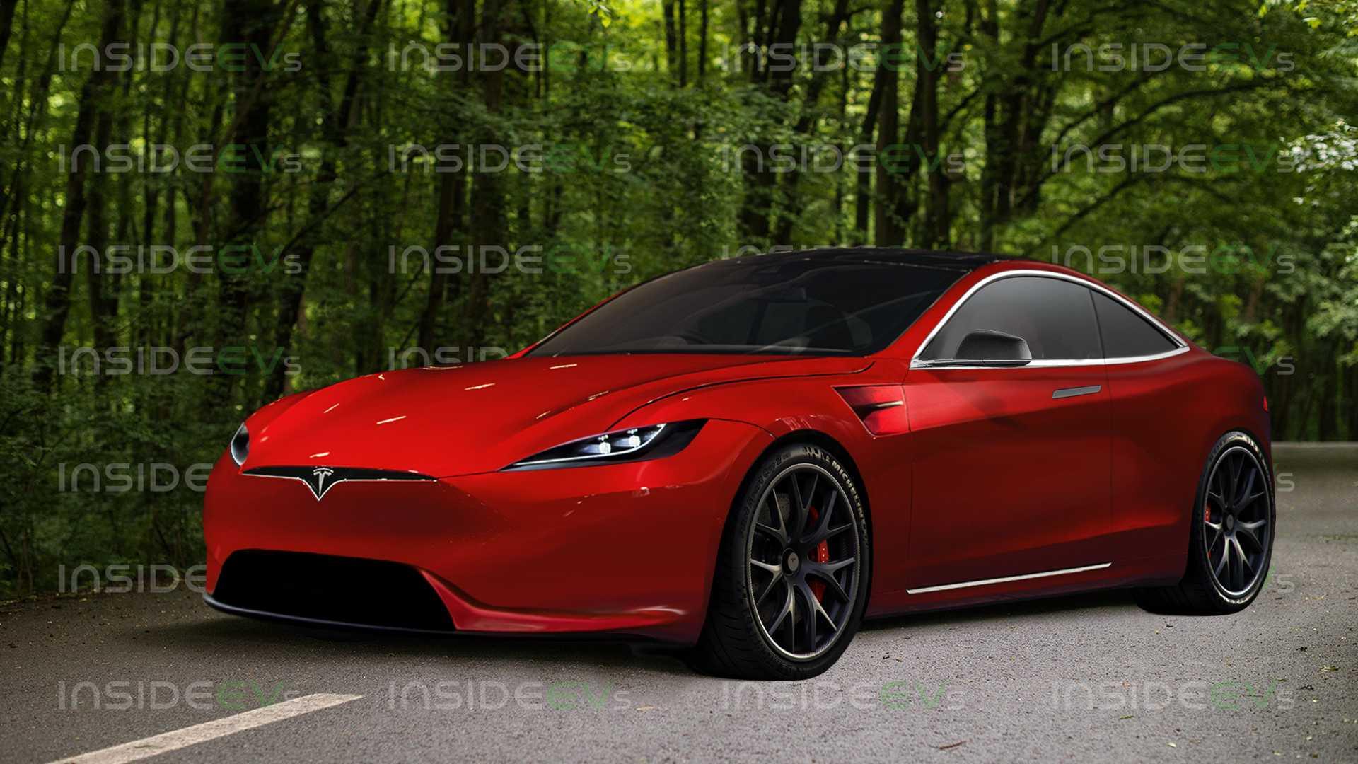 Это Tesla Model S Coupe Grand Tourer, безусловно, сладкий