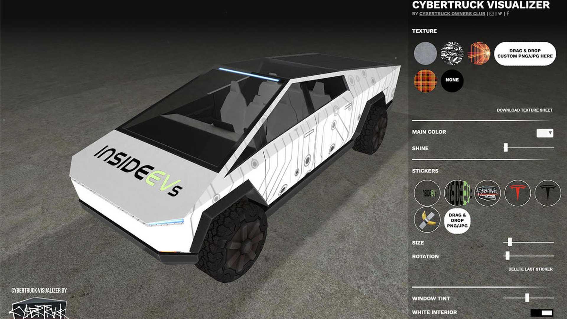 Визуализатор дизайна Tesla Cybertruck - это весело и полезно