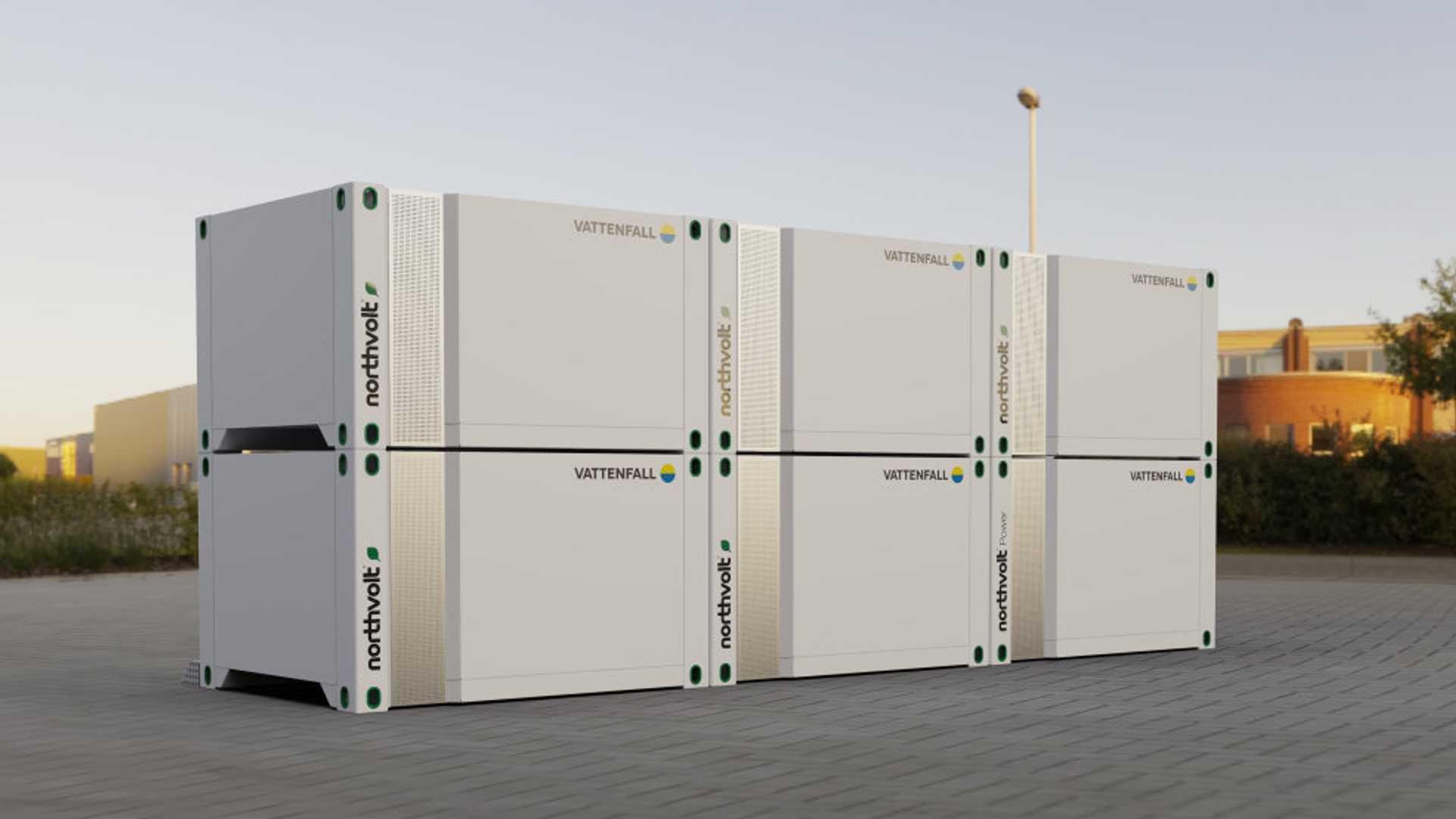 Northvolt представляет решение для хранения энергии Voltpack вместе с Vattenfall