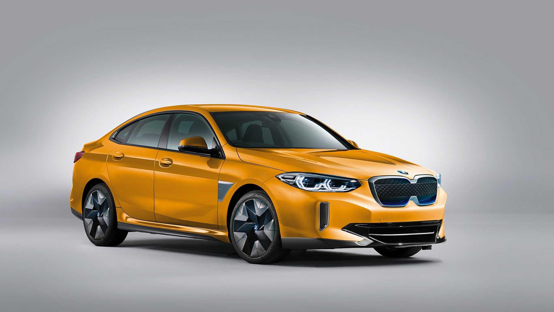 Что делать, если BMW решил сделать этот электрический седан i2 Gran Coupe?