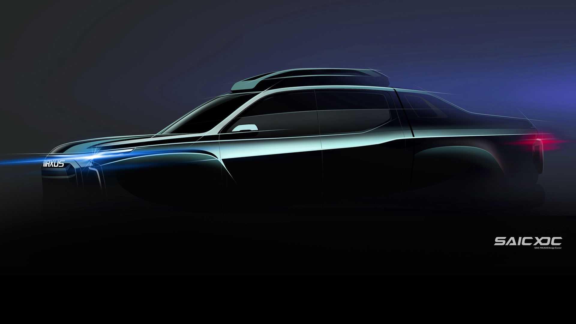 SAIC MAXUS может готовить электрический пикап Honda Ridgeline-like