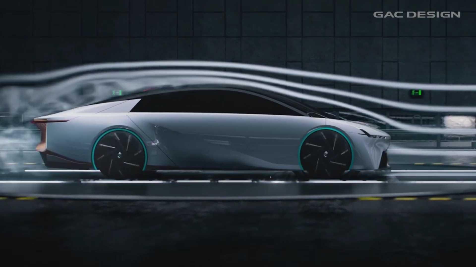 GAC ENO.146 Видео показывает самый создаваемый аэродинамический электромобиль в мире