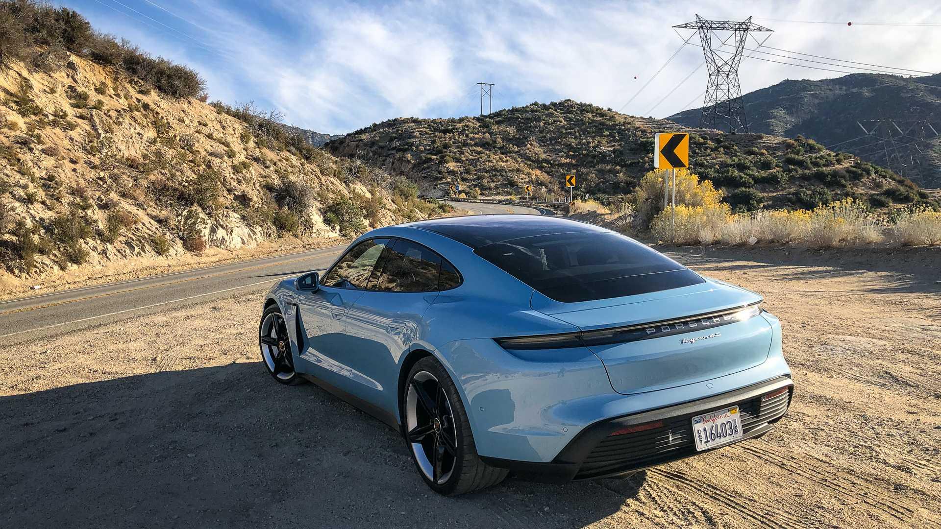 Продажи Porsche Taycan в США замедлились