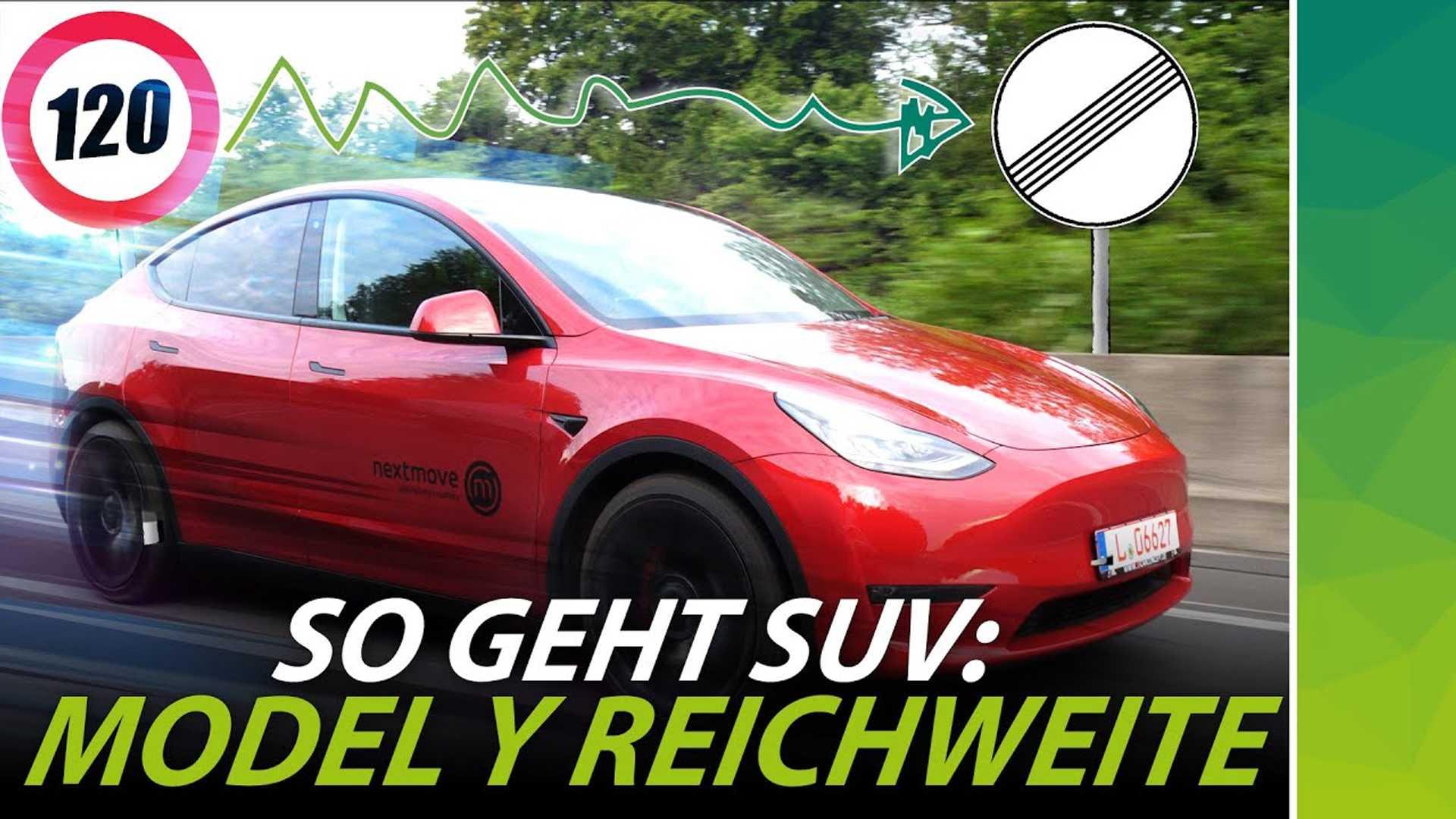 Посмотрите на Tesla Model Y, чтобы пройти тестирование автобана в Германии