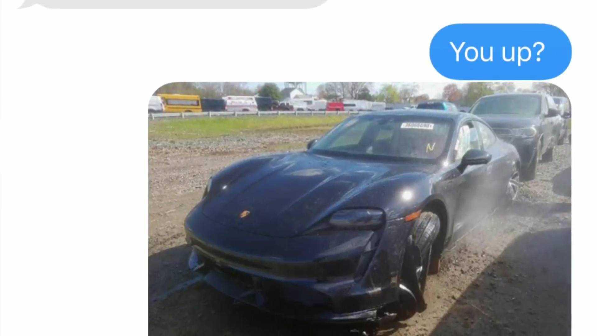 Будет ли Рич восстанавливать Porsche Taycan, чтобы заменить его Tesla Model S?