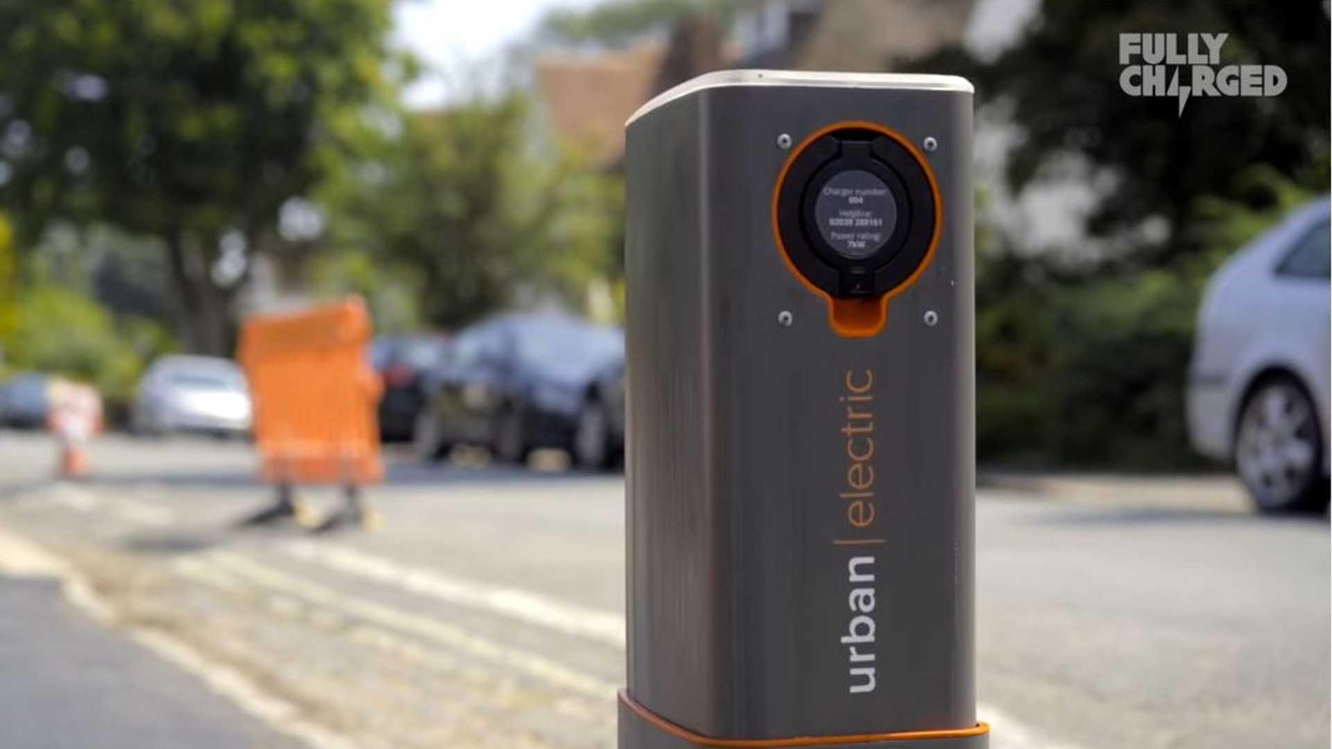 Эти всплывающие общественные пункты зарядки от городского электричества довольно аккуратны