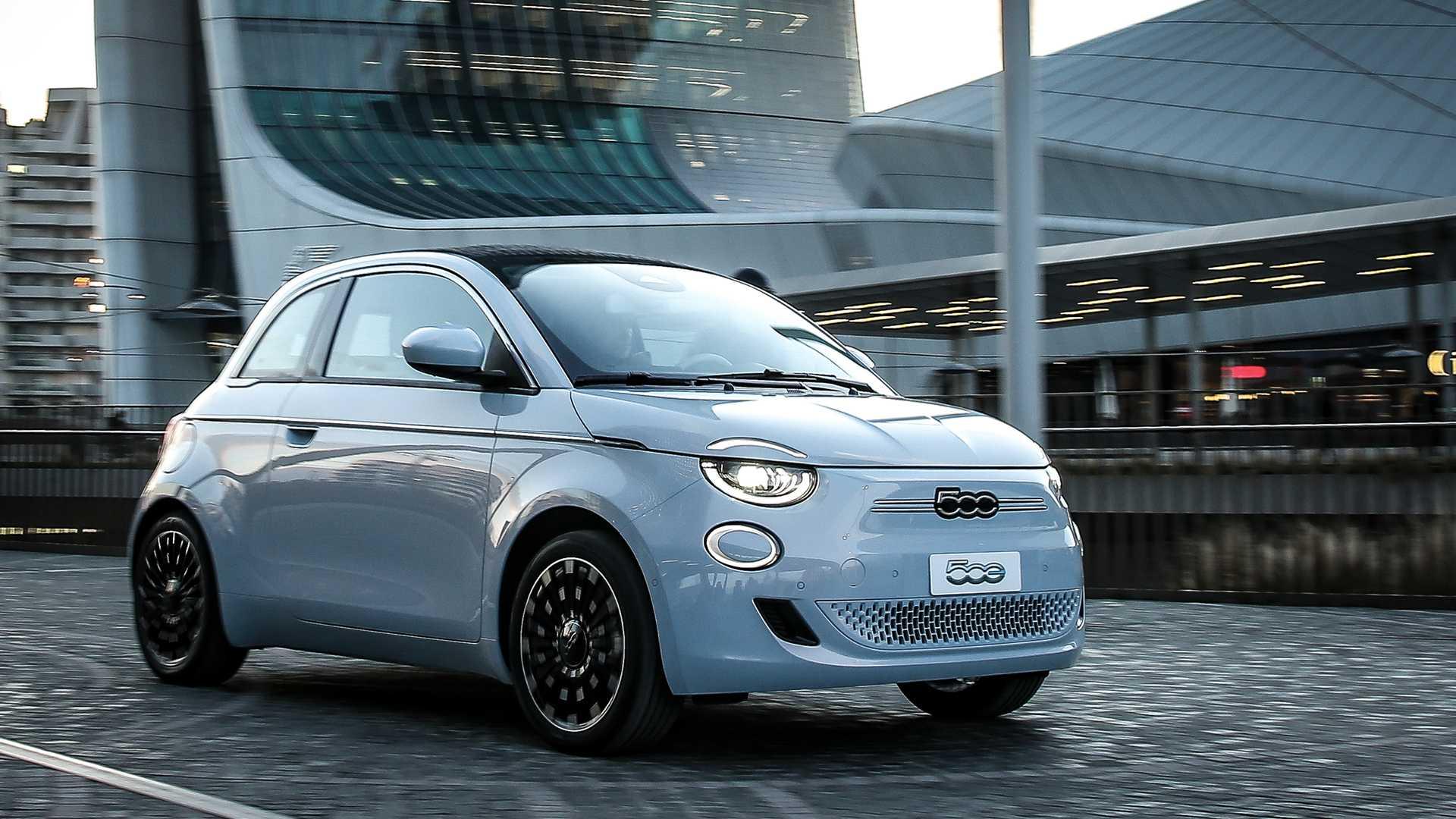 Президент Fiat называет новый электрический 500 'Городской Тесла'