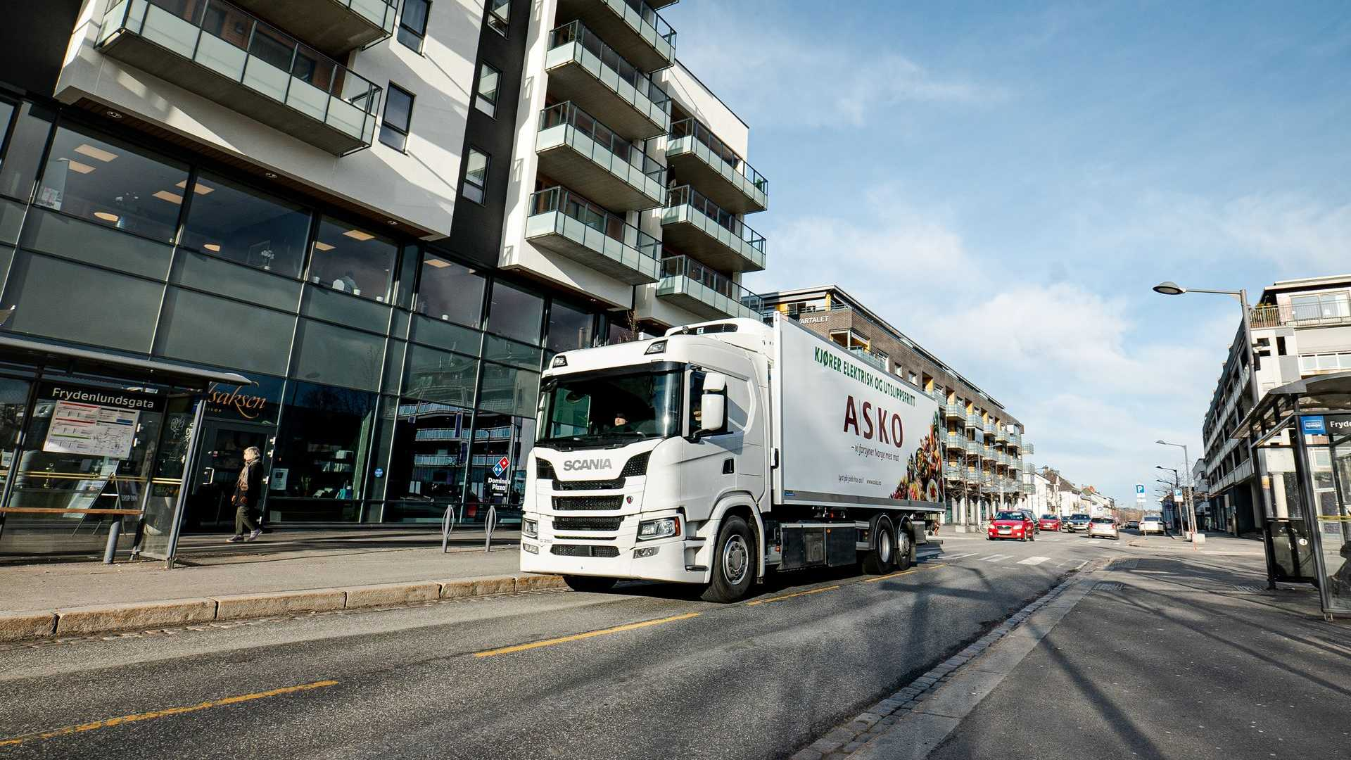 Scania battery electric truck