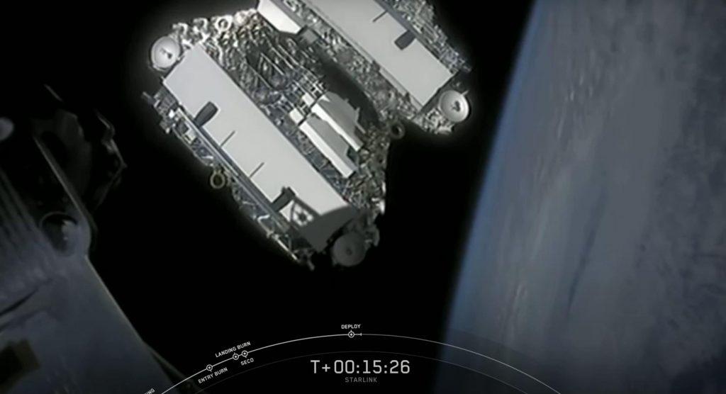 SpaceX, ULA, стремится к запуску космического корабля Starlink.