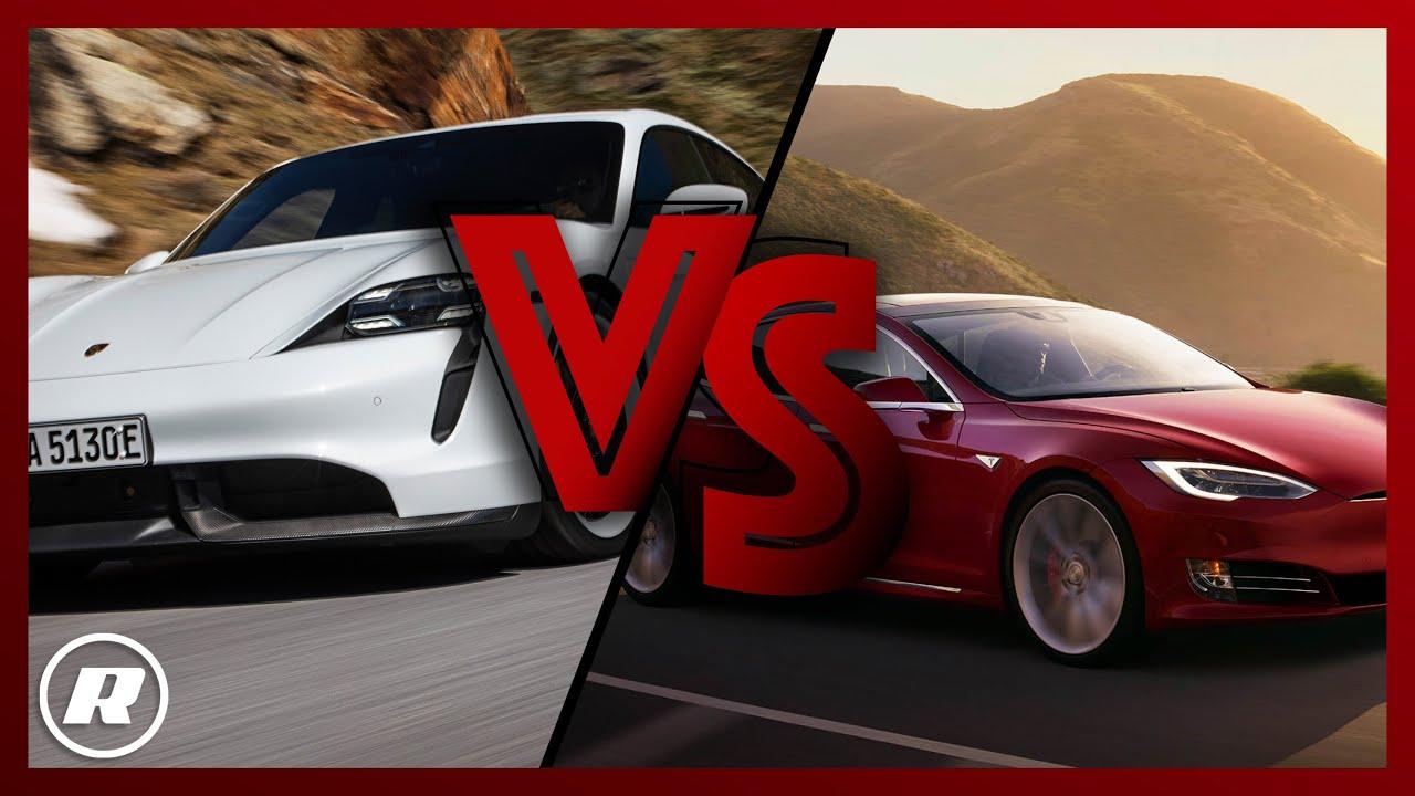Сравнение Tesla Model S и Porsche Taycan окончательно ударило по голове