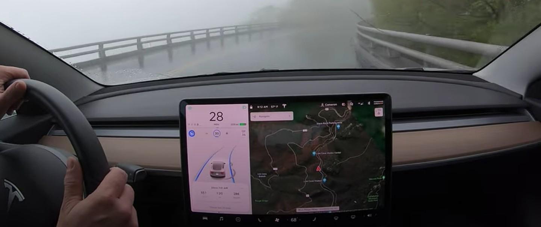 Тесла Автопилот впечатляет на 79-минутном «Тесте на пытки» по длинным извилистым дорогам