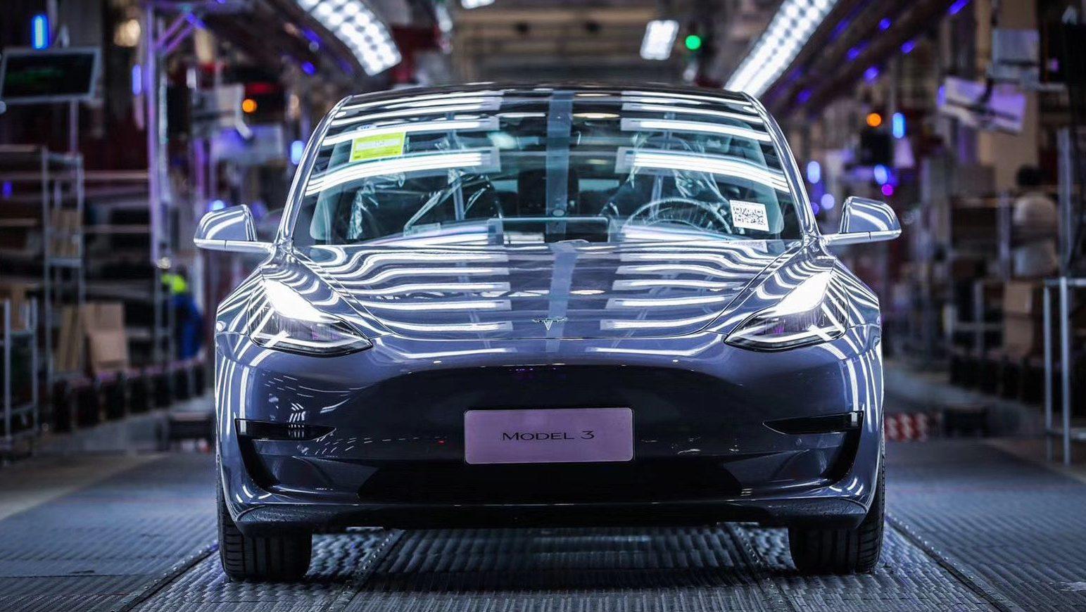 Tesla China готовится к следующему большому этапу Model 3 для Gigafactory Shanghai