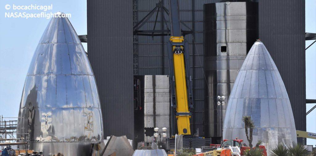 У SpaceX скоро будет флот космических кораблей