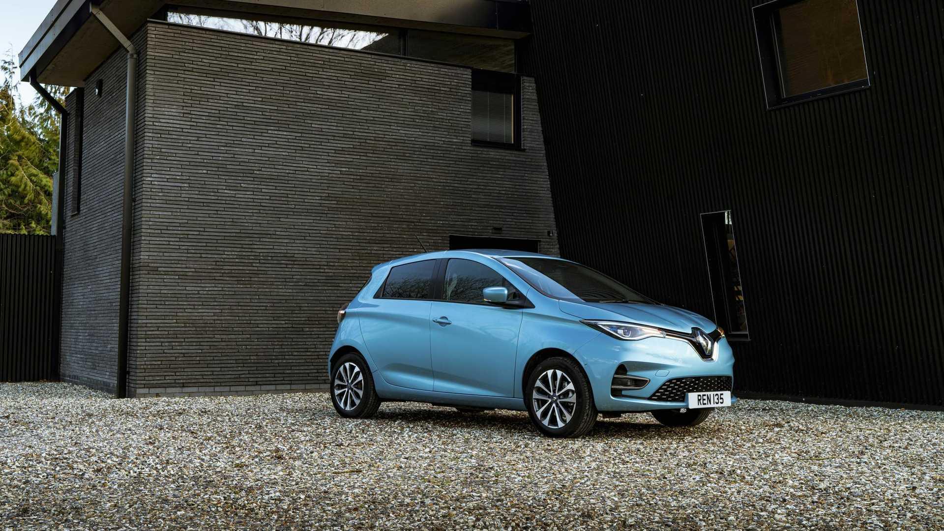 В апреле 2020 года продажи электромобилей Renault упали на 50%