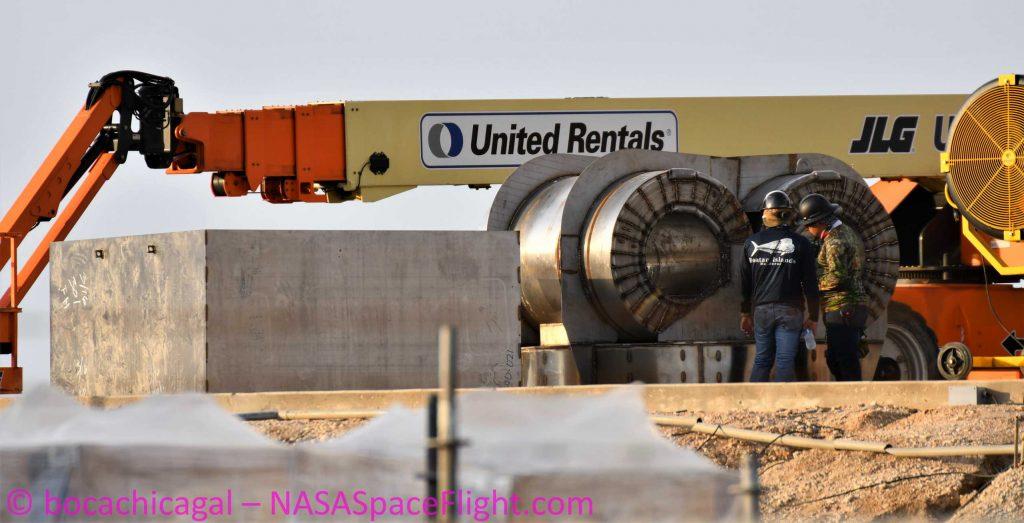 Звездный балласт SpaceX для дебютного теста