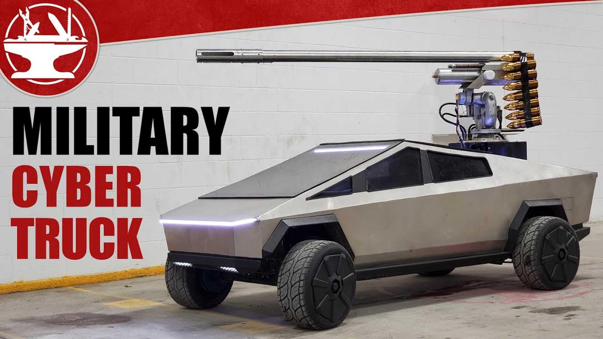 Проверьте этот военный проект Тесла Кибертрюк через Хаксмит