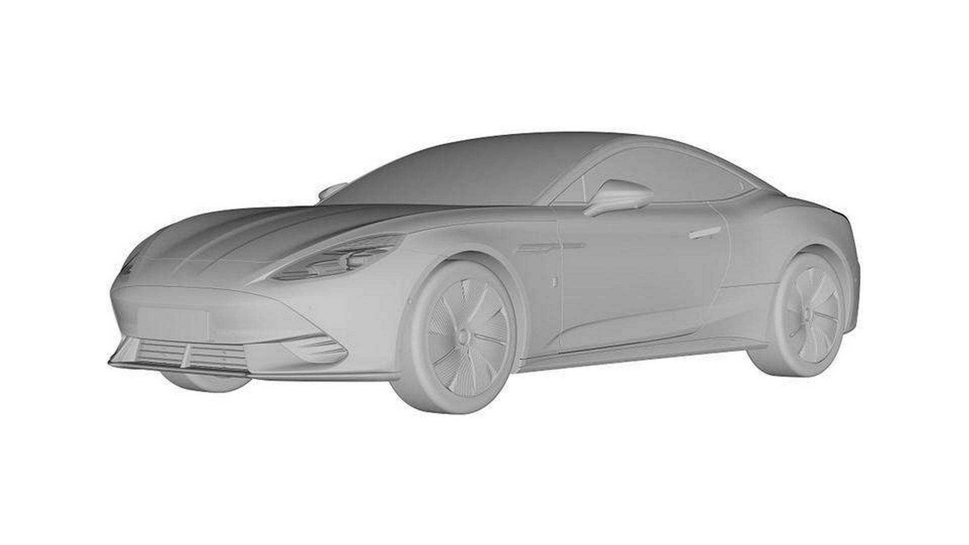 MG E-Motion имеет свою производственную версию, раскрытую патентными изображениями