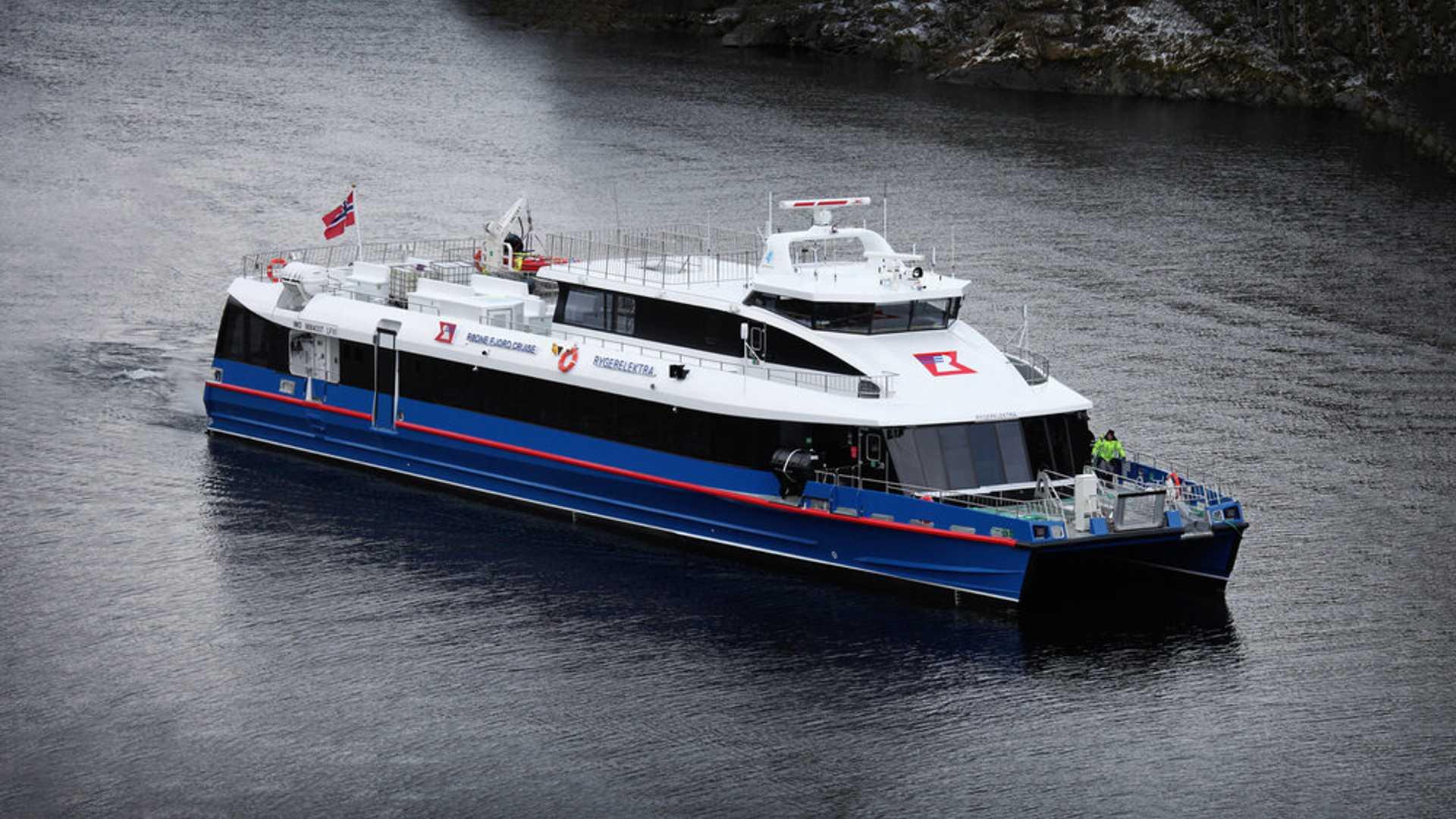Rygerelektra all-electric ferry