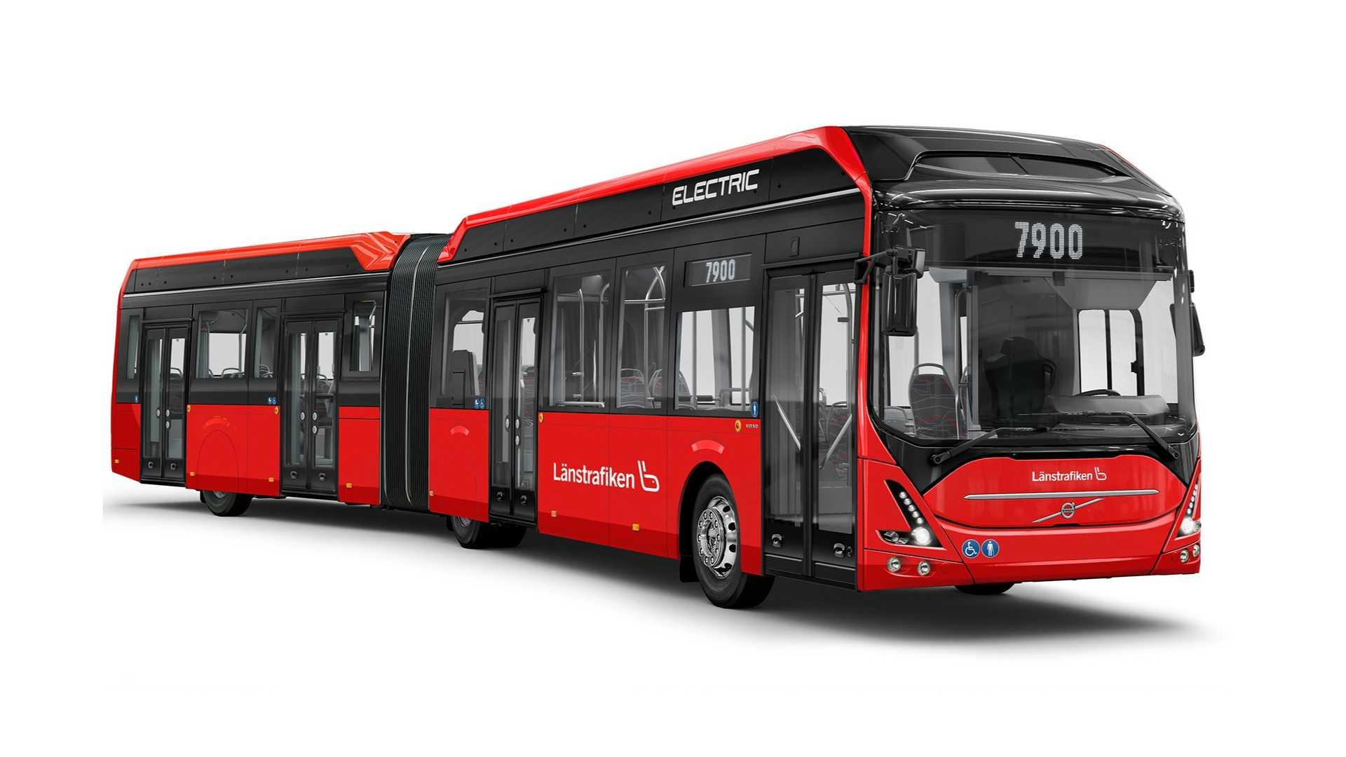 Автобусы Volvo доставят в Йёнчёпинг 49 высокопроизводительных автобусов EV