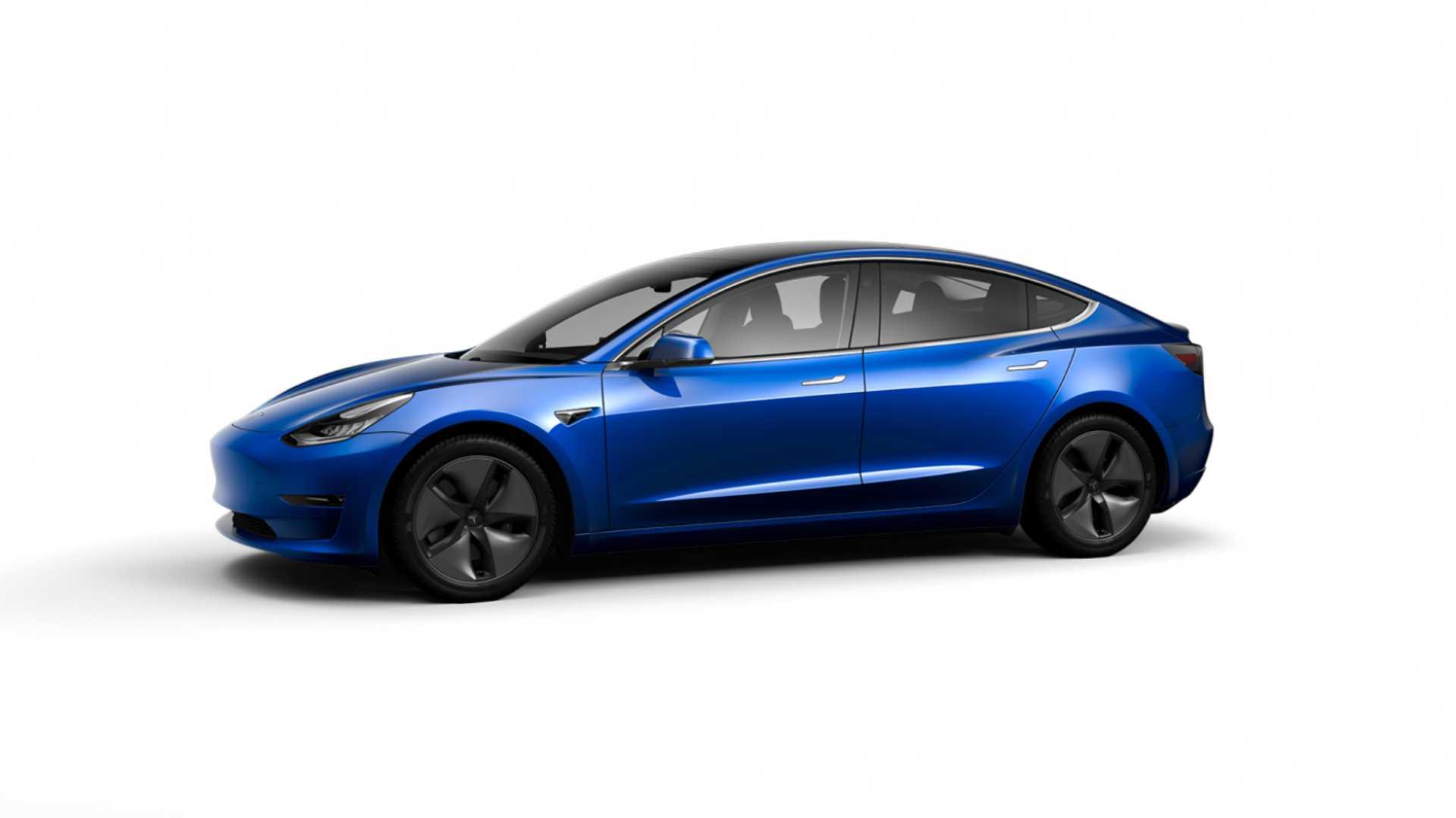 Tesla одобрена для производства модели 3 с батареями LFP