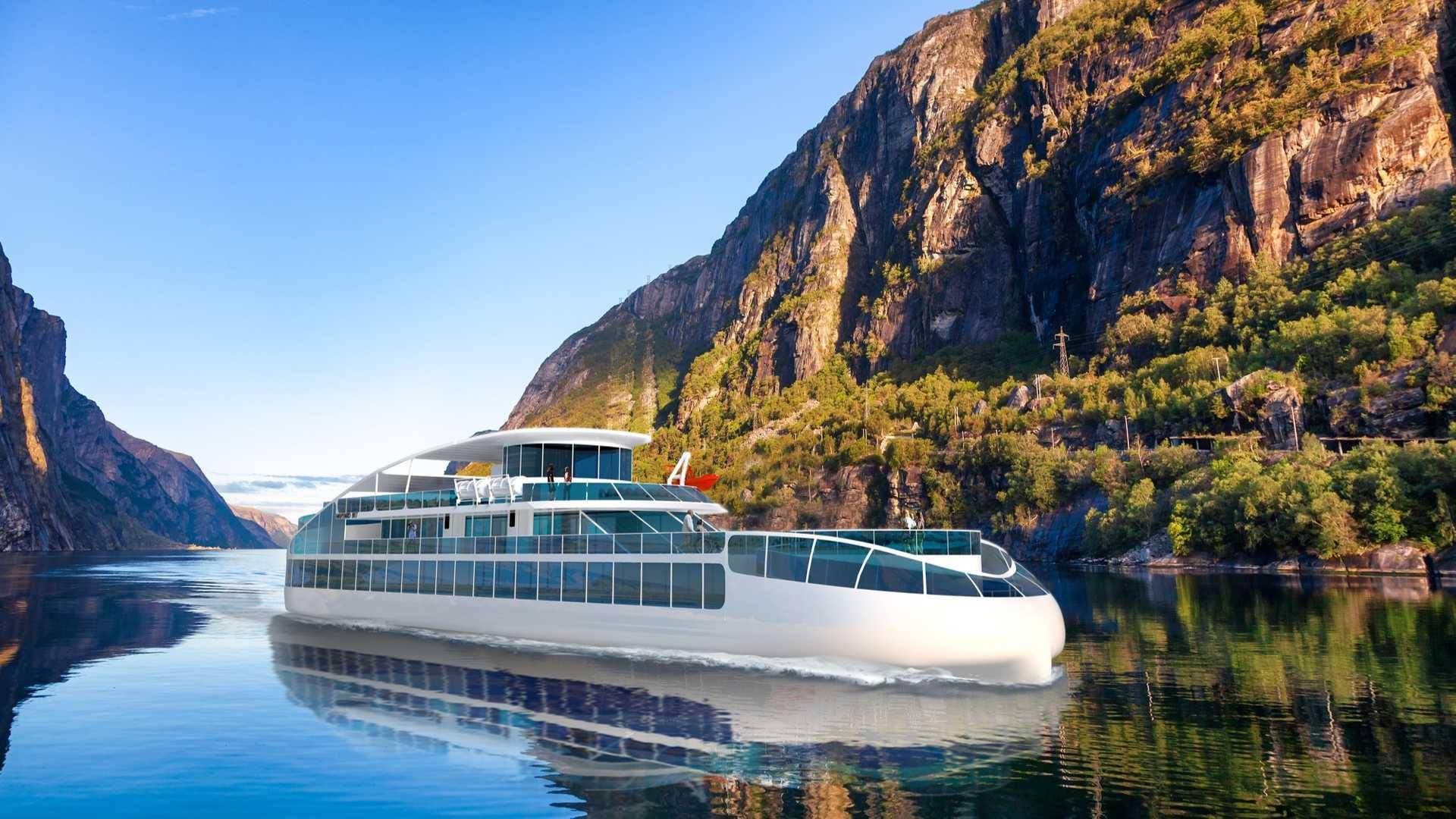 Havyard представляет концепцию электрического экскурсионного судна