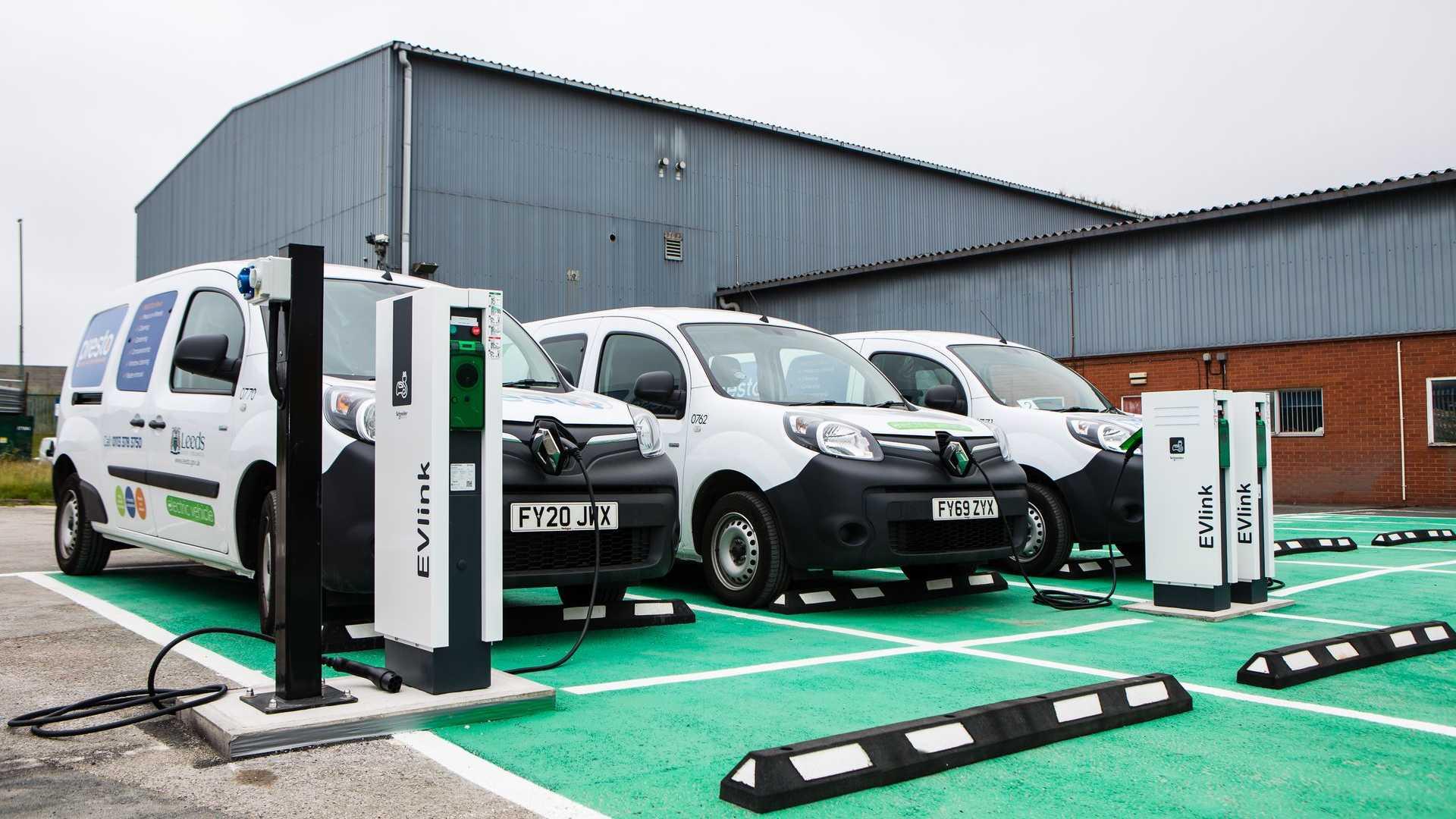 Leeds City Council adds Kangoo Z.E. vans to fleet