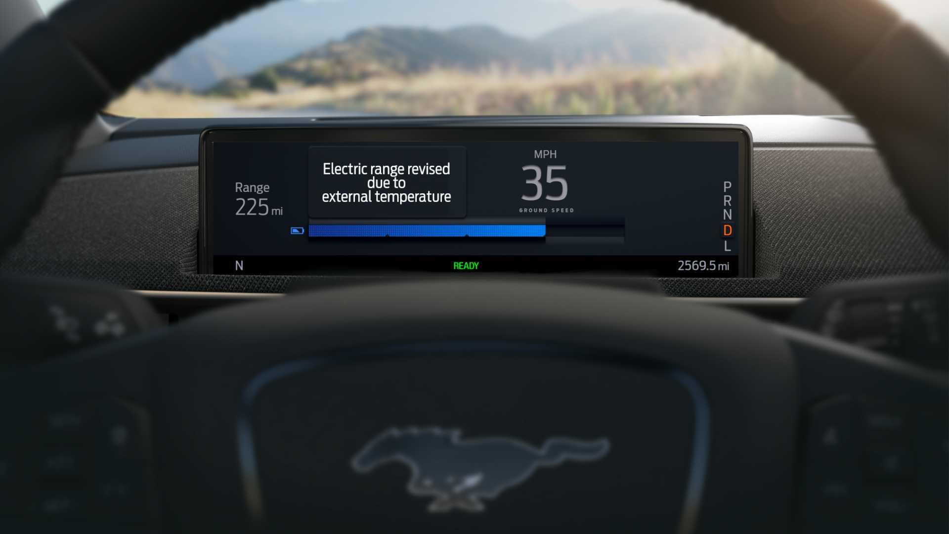Форд Мустанг Мах-е умный сметчик спектр стремится улучшить Теслы