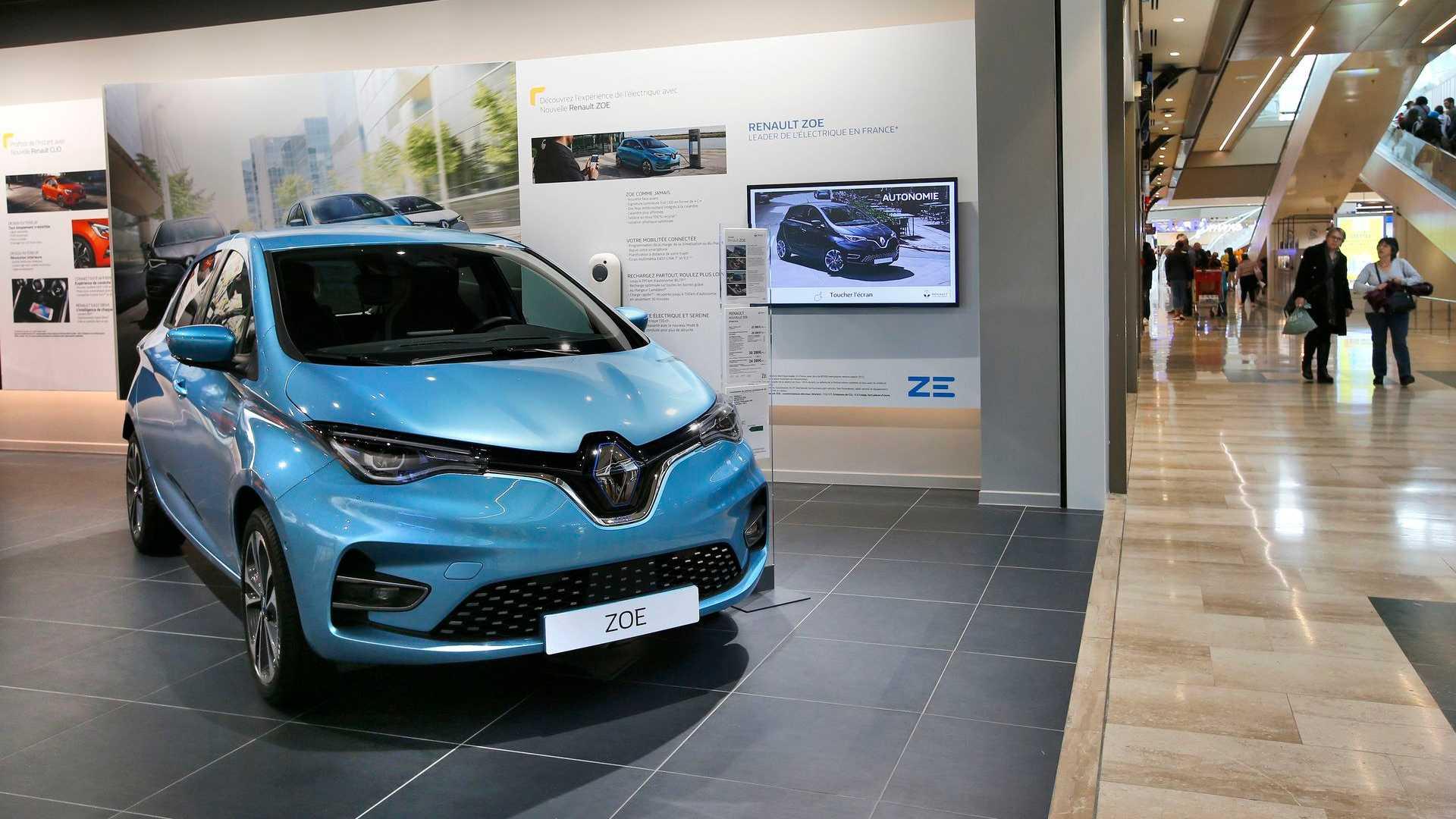 Рено Электрические Продаж Автомобилей В Мае 2020 На 18%