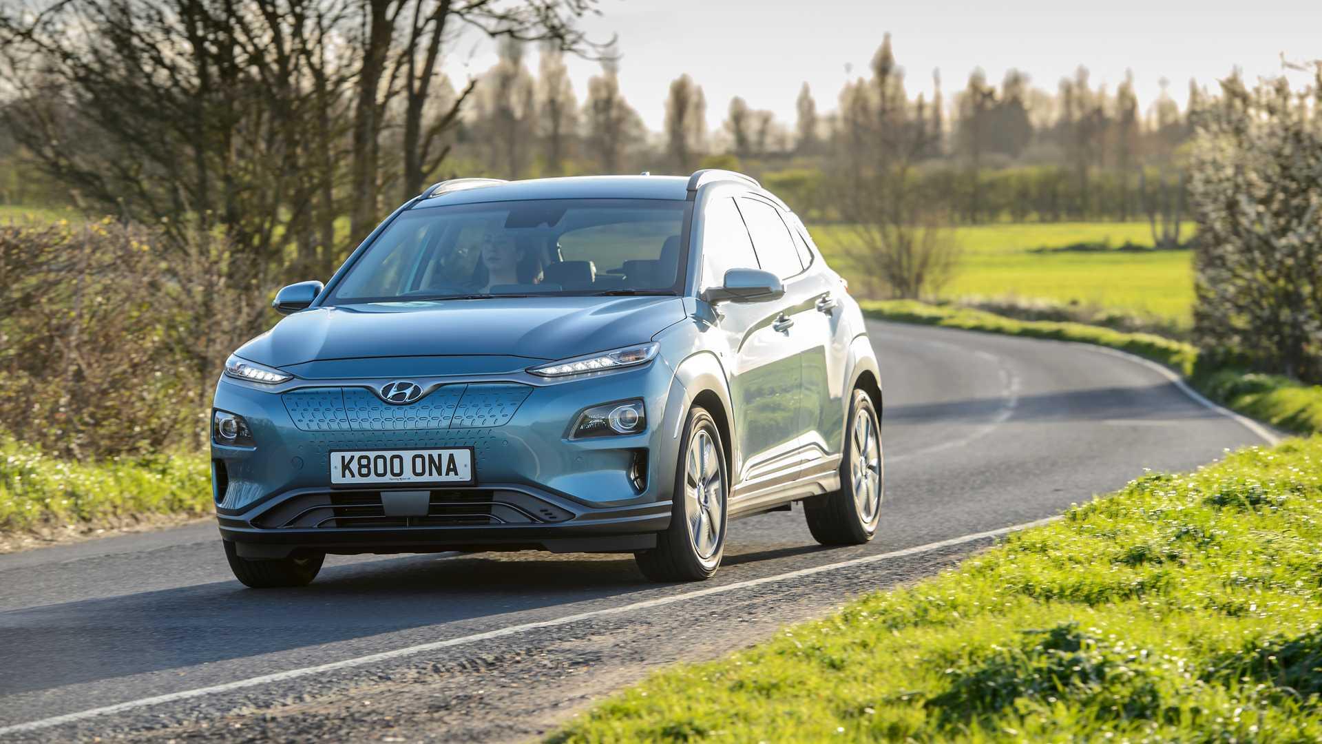 Hyundai подтверждает высокую поставку электромобилей в Великобритании