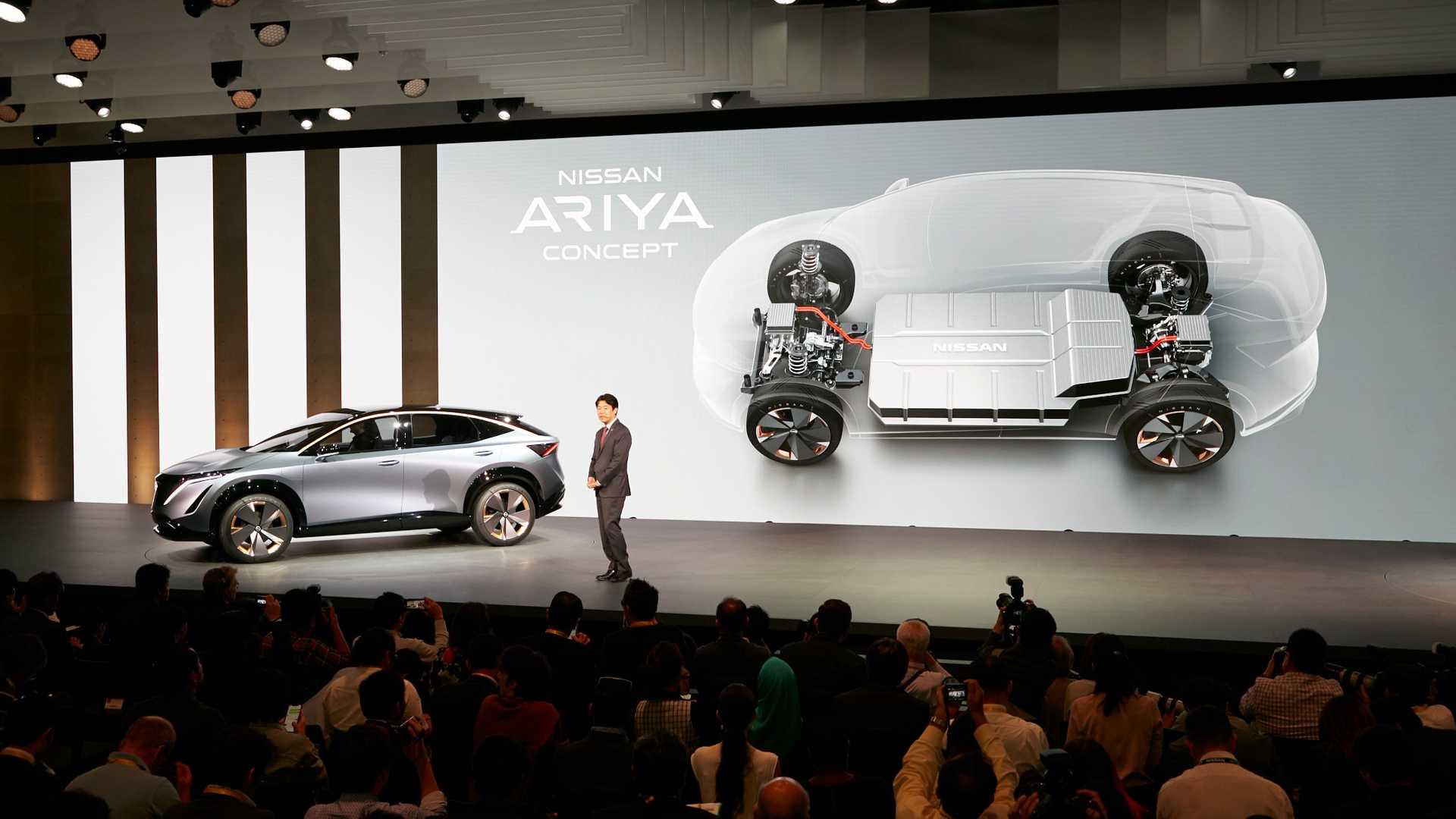 Nissan Ariya будет представлен 15 июля 2020 года