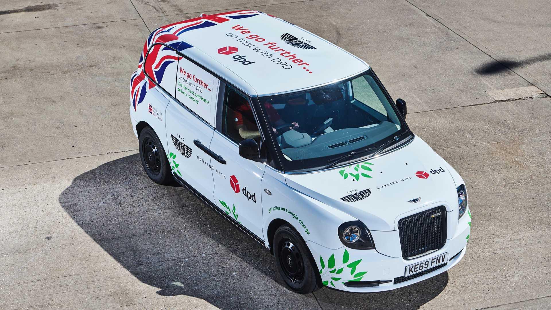 LEVC начинает испытания электрического фургона VN5 с переделанным TX