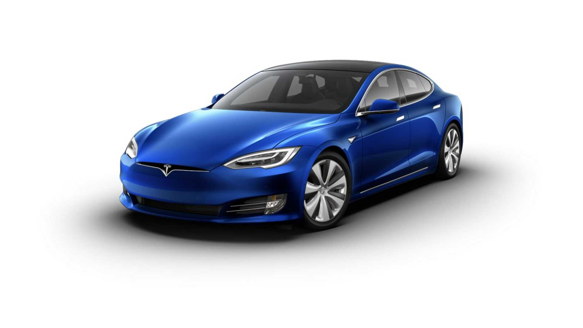 "Tesla Model S with 19"" Tempest Wheels"