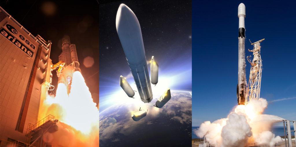 """Многоразовые ракеты """"Сокол"""" SpaceX заставляют Европу думать на два шага впереди"""