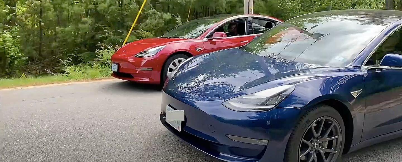 Tesla Model 3 с плагином взлома выдает вариант Performance