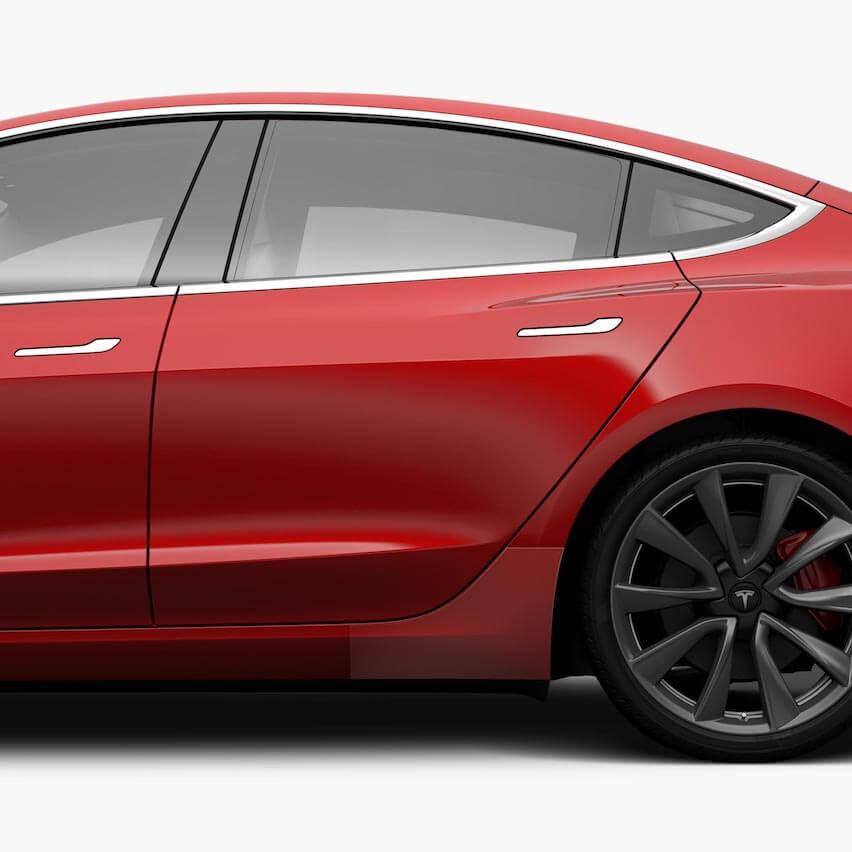 Tesla расширяет магазин Model 3 благодаря всепогодной защите и PPF