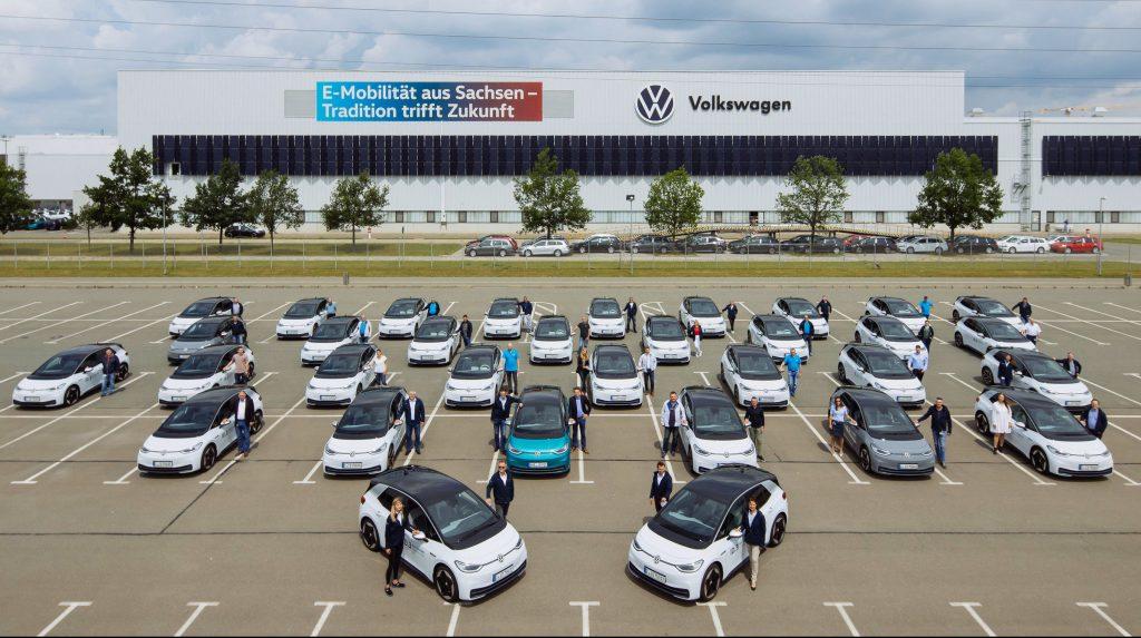 Volkswagen предоставляет ID.3 150 сотрудникам для тестов «повседневной пригодности»