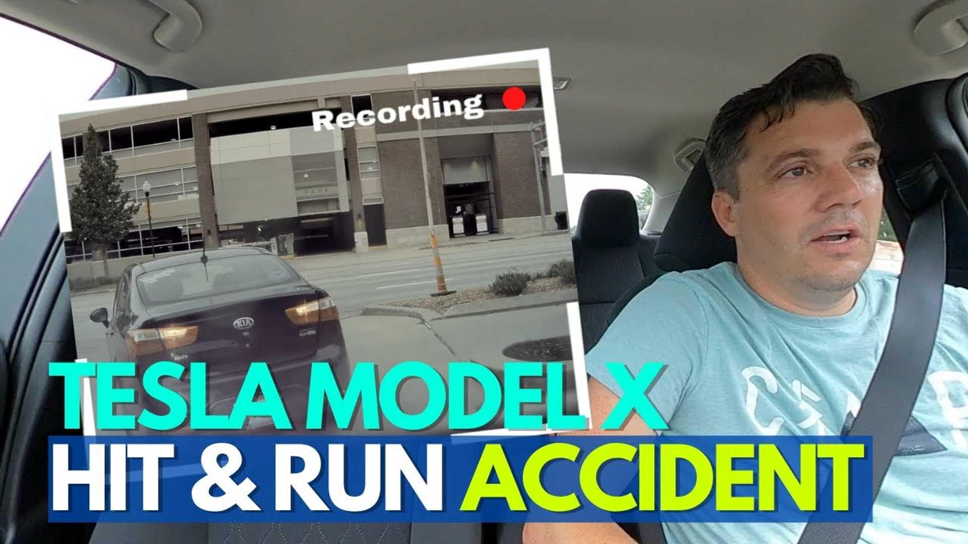 Совершенно новый ремонт Тесла Model X с ударом и бегом