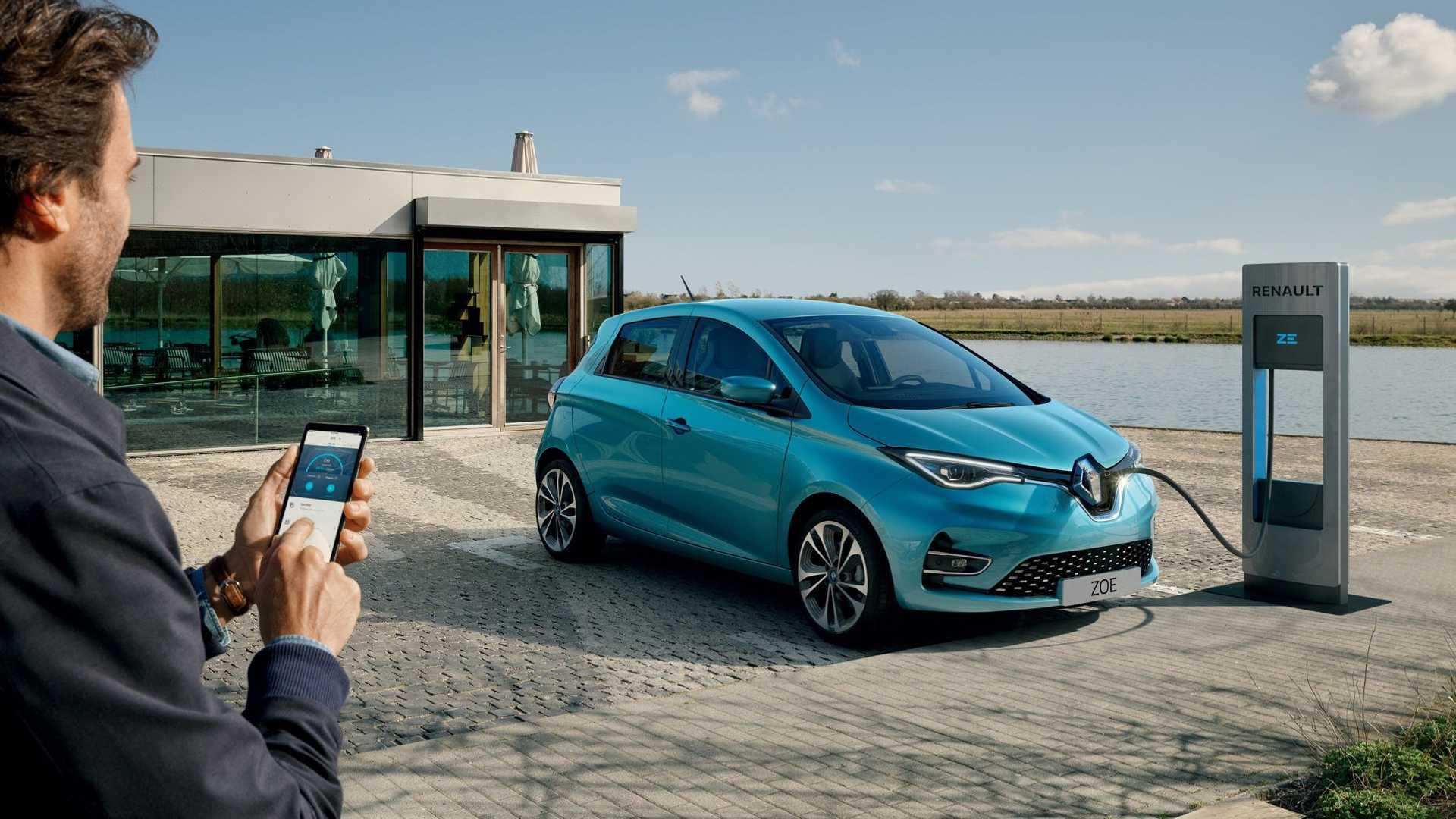 Спрос на Renault ZOE в Европе растет