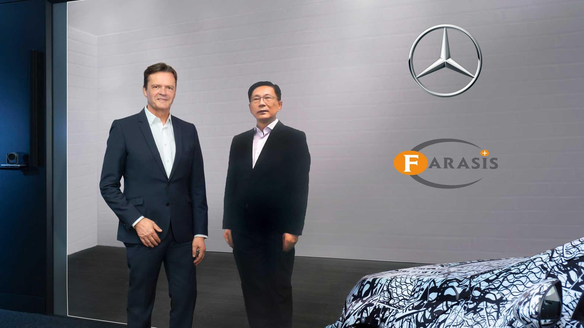 Mercedes-Benz и Farasis Energy объявили о стратегическом партнерстве