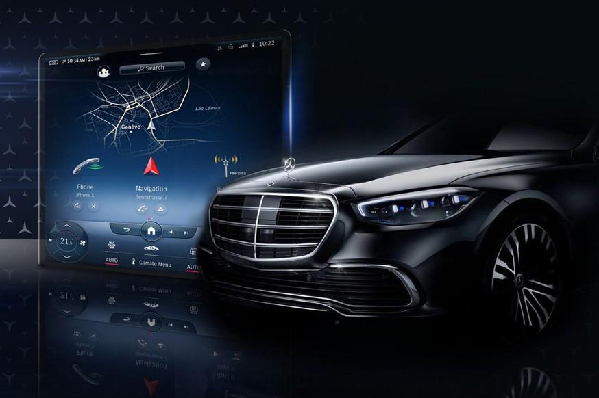 Mercedes S-Class седьмого поколения: меньше физических кнопок и большой мультимедийный сенсорный экран