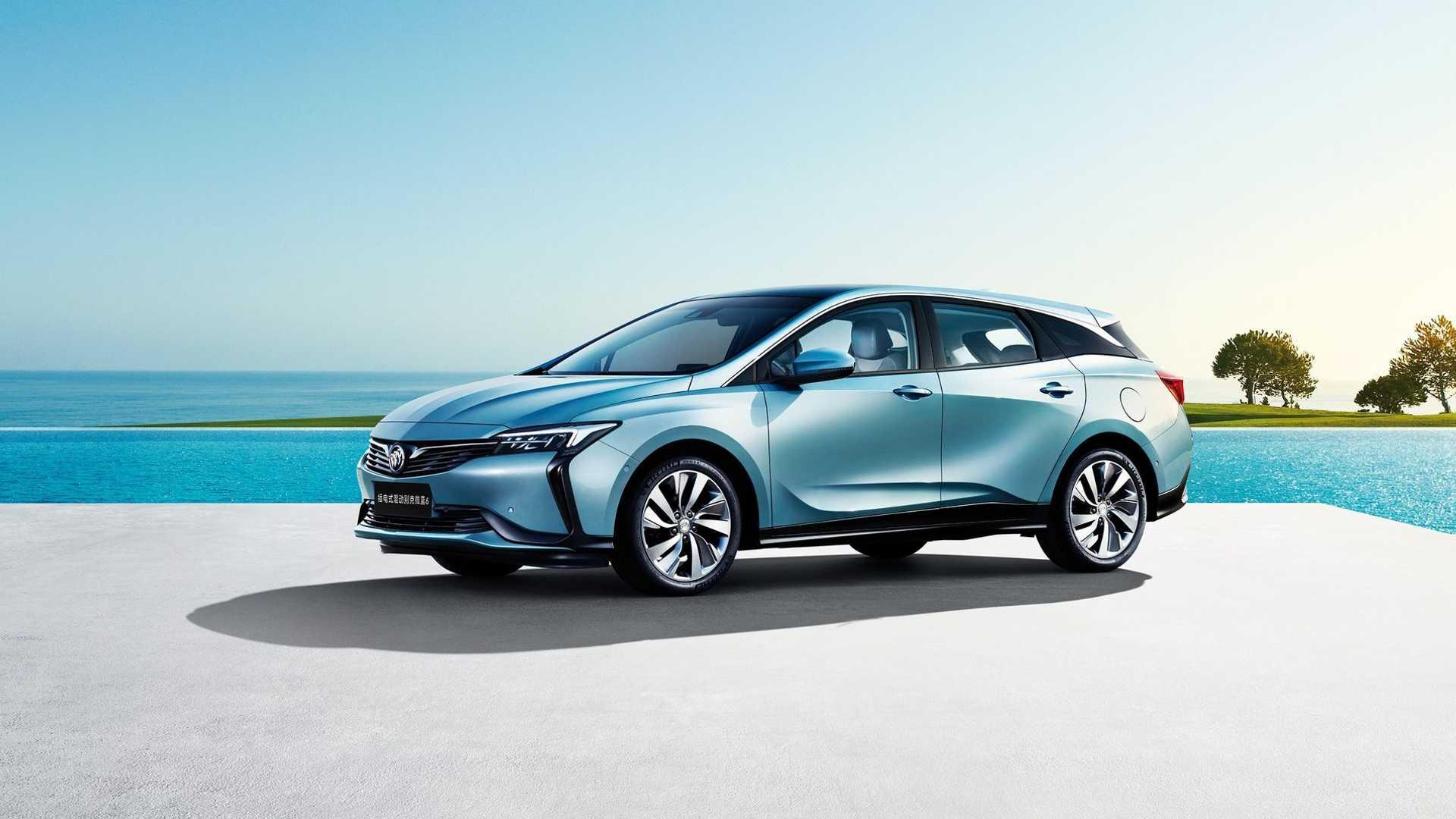 Buick объявляет Velite 6 PHEV для Китая
