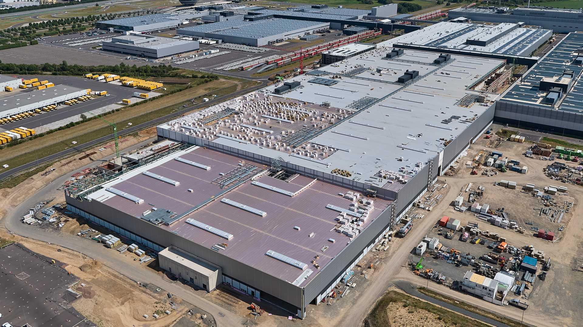 Porsche Leipzig Factory Expansion EV
