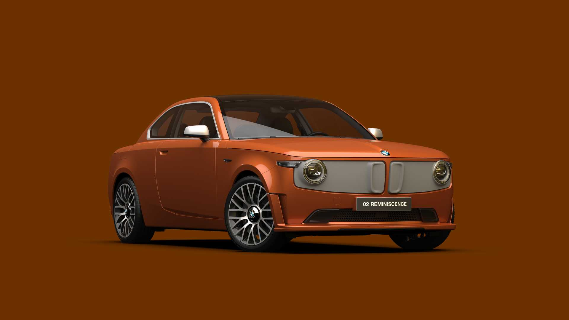 BMW 02 Reminiscence Concept rendering